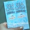 アシカの餌付け(sea lion feeding)をシーライフパークで体験